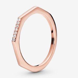 New Pandora Rose Multifaceted Ring